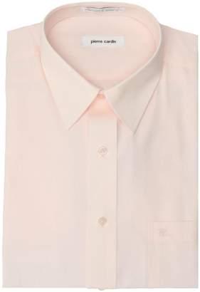 Pierre Cardin Pink Regular Fit Open Pocket Dress Shirt