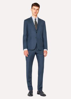 Paul Smith The Kensington - Men's Slim-Fit Dark Petrol Wool-Cashmere Suit