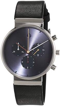 Jacob Jensen Unisex Analogue Watch with blue Dial Analogue Display ITEM NO.: 605