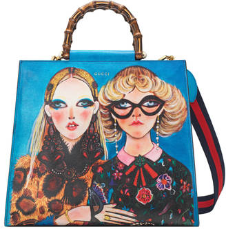 Gucci Unskilled Worker Nymphaea bag