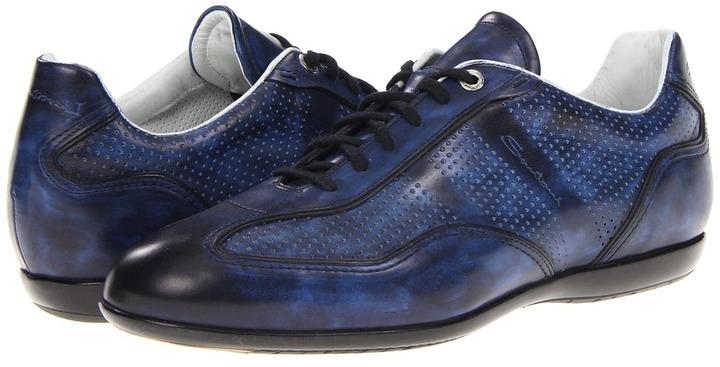 Santoni Striper (Blue) - Footwear