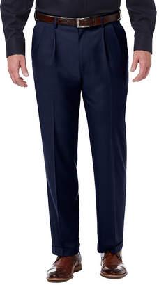 Haggar Premium Comfort Dress Pant Classic Fit Pleated