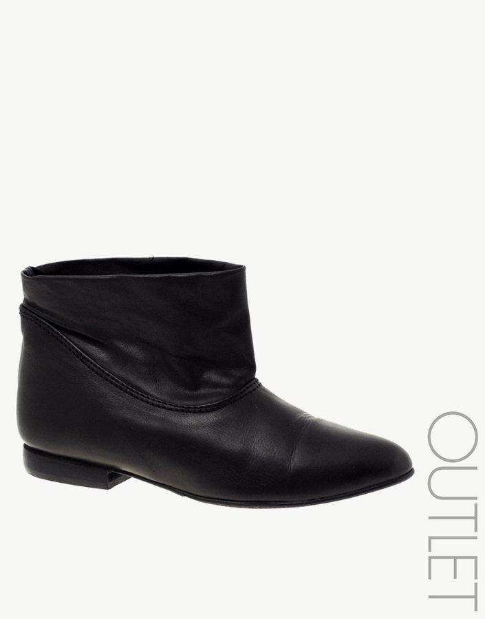 dico Copenhagen Leather Short Leather Casual Boots