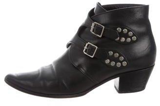 Saint LaurentSaint Laurent Studded Ankle Boots