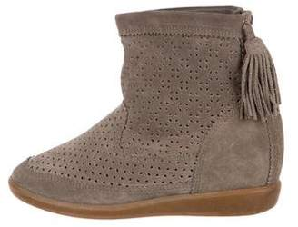 Isabel Marant Suede Wedge Boots