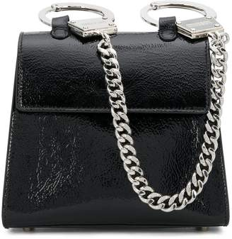 Moschino hand-cuff shoulder bag