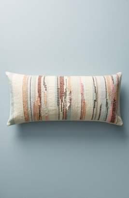 Anthropologie Jess Feury Sunstreak Accent Pillow