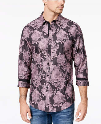 INC International Concepts I.n.c. Men's Floral Shirt