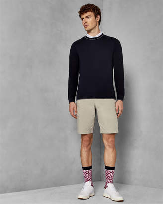 Ted Baker TRACKR Golf crew neck sweater