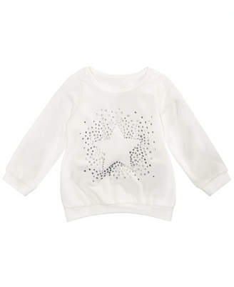 First Impressions Toddler Girls Star Graphic Velour Top, Created for Macy's