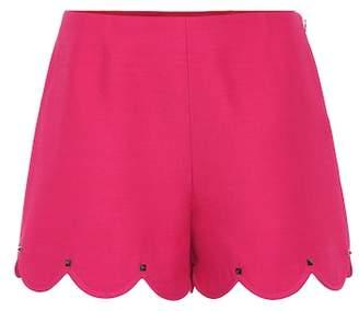 Valentino Silk and wool shorts