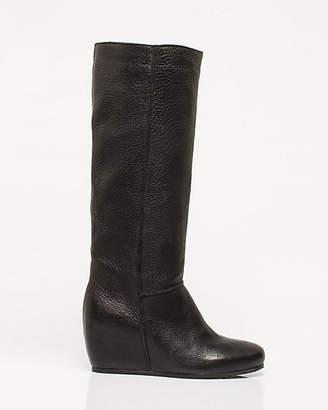 Le Château Italian-Made Leather Knee-High Boot