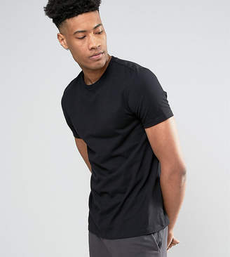 Asos Design TALL T-Shirt With Crew Neck In Black