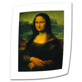 Leonardo Art Wall Mona Lisa by Da Vinci Rolled Canvas Art, 24 by 32-Inch