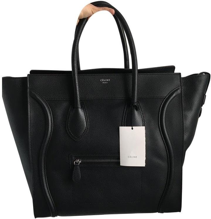 CelineLuggage leather handbag