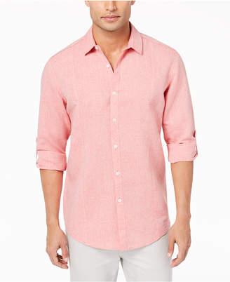 INC International Concepts I.n.c. Men's Linen Shirt, Created for Macy's