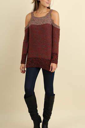 Umgee USA Tri-Tonal Sweater