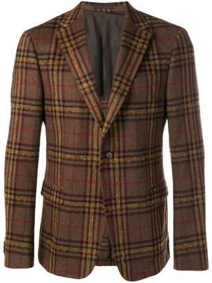 Ermenegildo Zegna classic check blazer