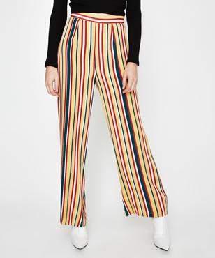 Alice In The Eve Full Length Vertical Stripe Pant