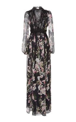 Giambattista Valli Floral Printed Maxi Dress