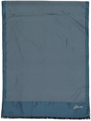 Brioni Turquoise Silk Scarves & pocket squares