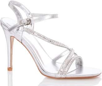 3bf2112bc Quiz Silver Heels - ShopStyle UK