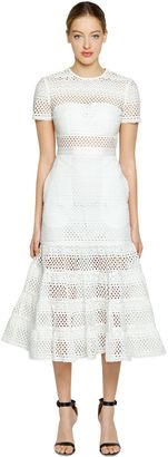 Bea Eyelet Cotton Midi Dress $510 thestylecure.com