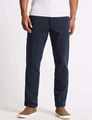 Marks and Spencer Slim Fit Cotton Rich Authentic Chinos