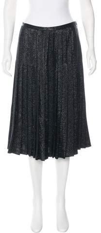 Michael Kors Metallic Midi Skirt w/ Tags