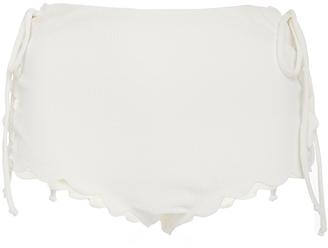Marysia Swim Palm Springs Tie Bikini Bottom $190 thestylecure.com