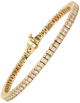 Established Diamond Tennis Bracelet - Yellow Gold