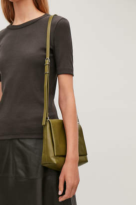 Cos SMALL SOFT-LEATHER SHOULDER BAG