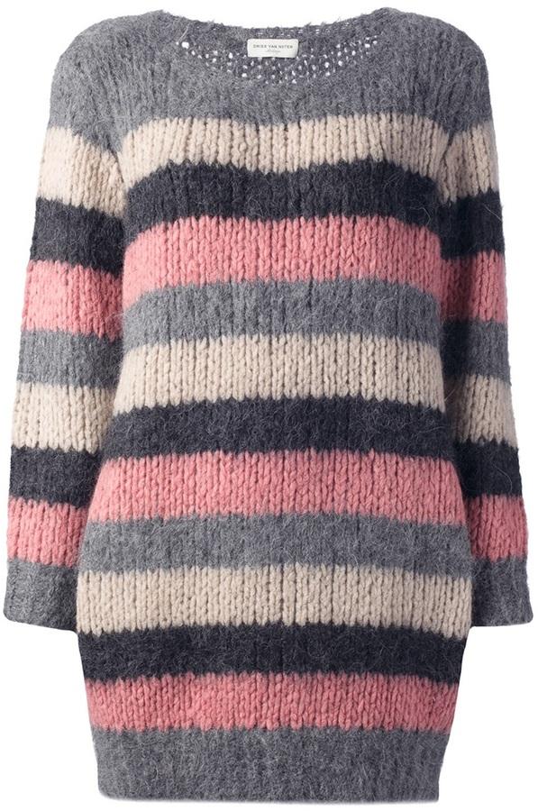 Dries Van Noten striped 'Timon' sweater