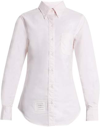 Thom Browne Point-collar cotton shirt