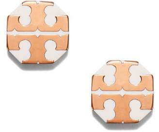 Tory Burch STRETCHED-T STUD EARRING
