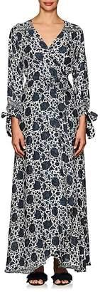 Natalie Martin Women's Danika Silk Cover-Up Maxi Dress