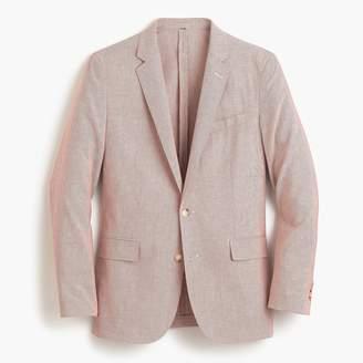 J.Crew Unstructured Ludlow Slim-fit cotton-linen blazer in pink stripe
