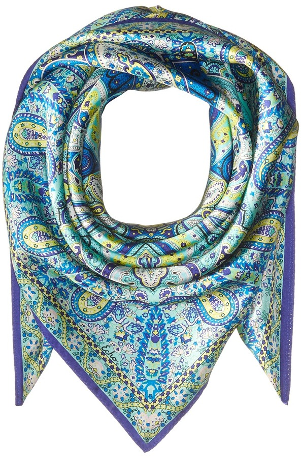 Echo Design - Paisley Silk Square Scarf Scarves