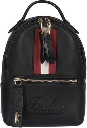 Bally Logo Embossed Mini Backpack