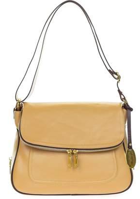 9dea1512b477 Giordano Italian Made Leather Shoulder Bag with Wrap Around Zipper