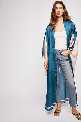 Rising Sun Maxi Kimono