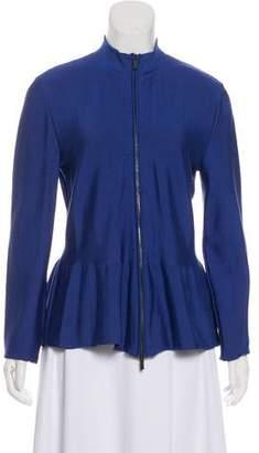 Armani Collezioni Long Sleeve Zip-Up Jacket