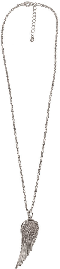 Forever 21 Angel Wing Charm Necklace