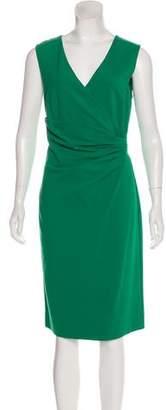 Diane von Furstenberg Sleeveless Knee-Length Dress