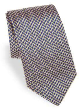 Canali Printed Silk Tie