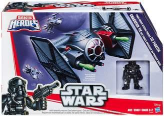 Playskool Galactic Heroes Star Wars First Order Special Forces TIE Fighter by Heroes