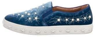 Aquazzura Cosmic Slip-On Sneakers