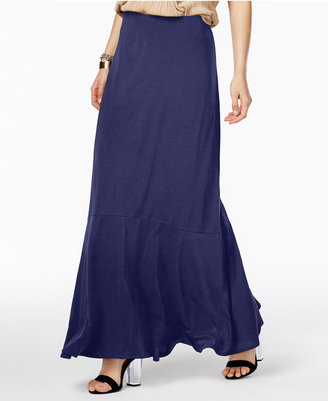 Eci Ruffled Maxi Skirt $60 thestylecure.com