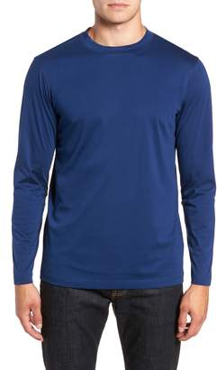 Bugatchi Solid Long Sleeve T-Shirt