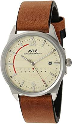 Swiss Eagle Men's 'Abyss' Swiss Quartz Stainless Steel and Leather Dress Watch